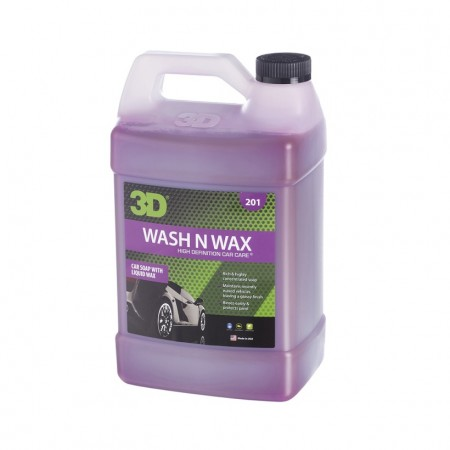 3D Wash N Wax, 1 gallon