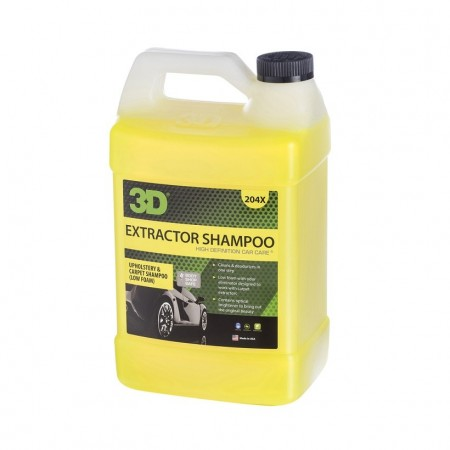3D Extractor shampoo, 1 Gallon