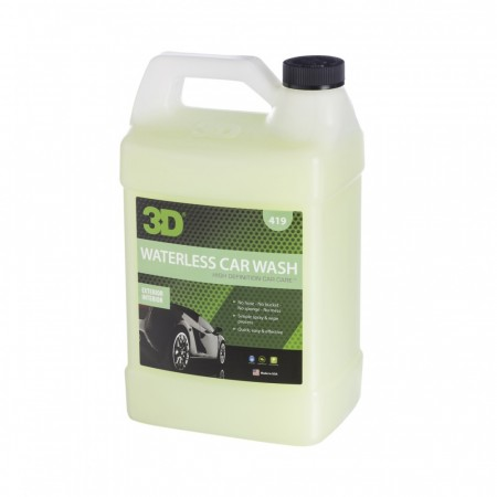 3D Waterless Wash, 1 gallon