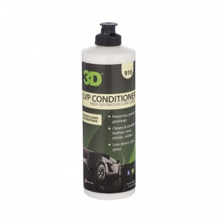 3D LVP Conditioner - Liquid Leather, 473 ml