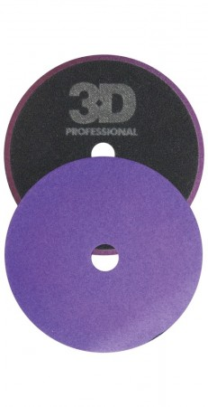 3D Light Purple Foam Cutting/Polishing Pad Ø140mm
