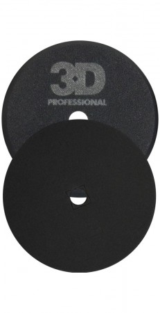 3D Black Foam Finishing Pad, Ø140mm