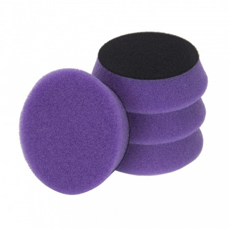 3D Light Purple Foam Spider Cutting/Polishing Pad, Ø80/90mm, 2pk