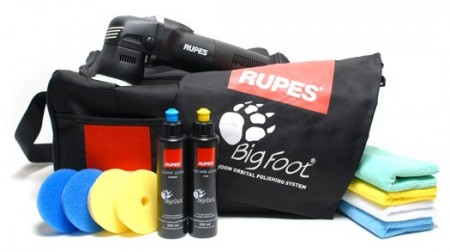 RUPES BigFoot LHR 75E Mini Deluxe kit