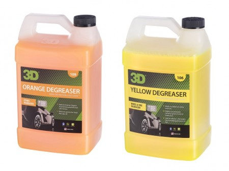 Avfetting og felgrenspakke, 2 x 1 Gallon
