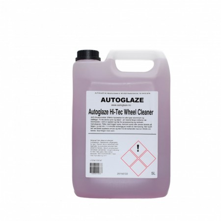Autoglaze Hi-Tec Wheel Cleaner, 5 liter