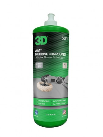 3D AAT RUBBING COMPOUND, 946 ml