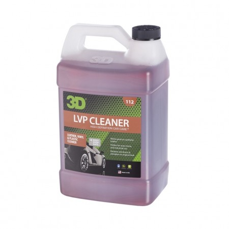 3D LVP Cleaner - Leather, Vinyl, Plastic Cleaner, 1 gallon