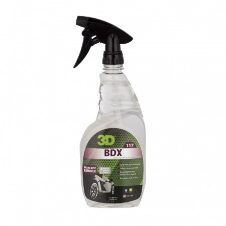 3D BDX, Brake Dust Remover, 709 ml