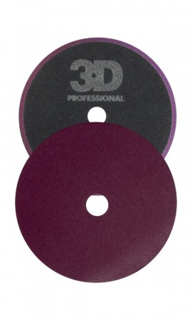3D Dark Purple Foam Cutting Pad, Ø140mm